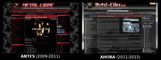 Metal-Libre.org, antes y ahora